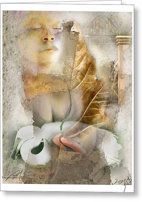 Rebirth Greeting Card by Bob Salo