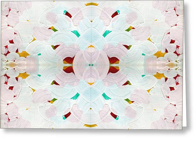 Recombinant Mandala 2 Greeting Card by Paul Ashby
