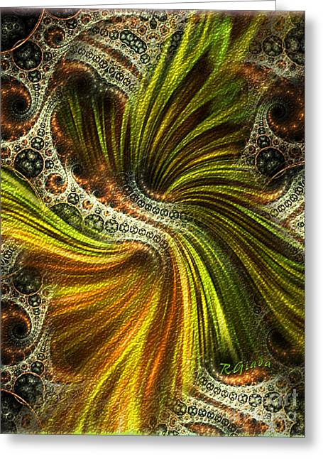 Reconciliation - Abstract Art By Giada Rossi  Greeting Card