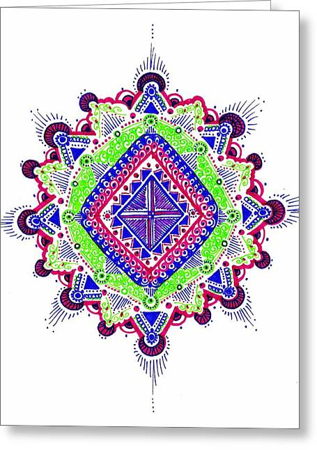 Reconciliation Greeting Card by Marie Parker