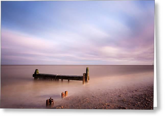 Reculver Bay Greeting Card