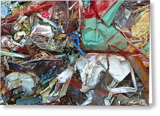 Recycle Greeting Card by Laurie Tsemak