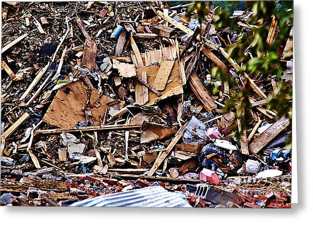 Recycle This  Greeting Card by JW Hanley