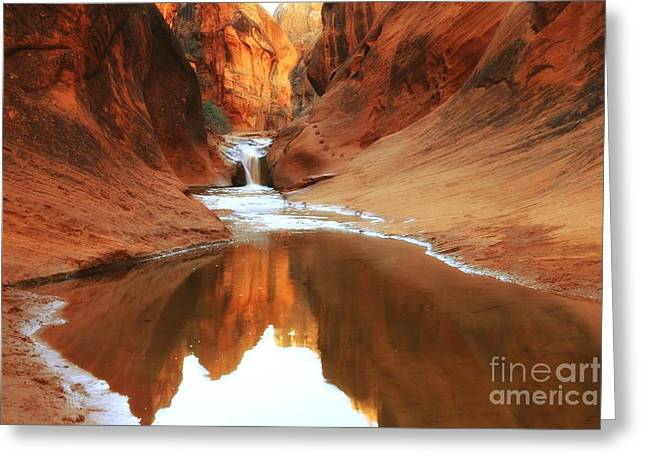 Red Cliffs Symphony Greeting Card