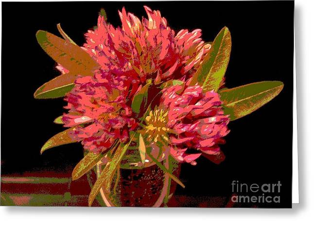 Red Clover 1 Greeting Card