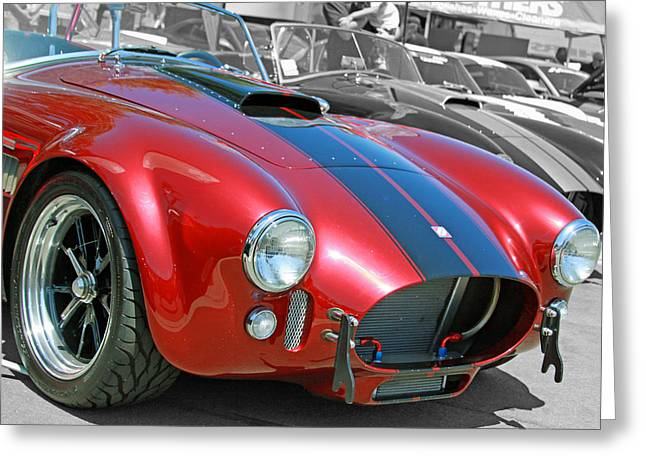Greeting Card featuring the photograph Red Cobra by Shoal Hollingsworth