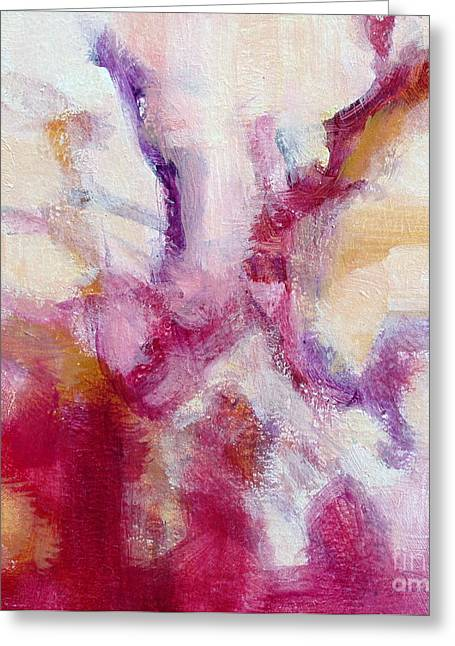 Red Coral II Greeting Card by Virginia Dauth