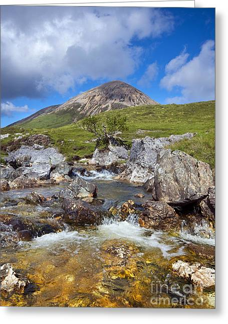 Red Cuillin Greeting Card