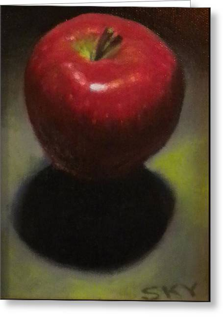 Red Delicious Greeting Card by Blue Sky