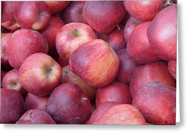 Greeting Card featuring the photograph Red Delicious by Joseph Skompski
