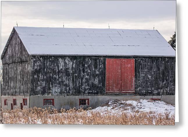 Red Door Barn Greeting Card