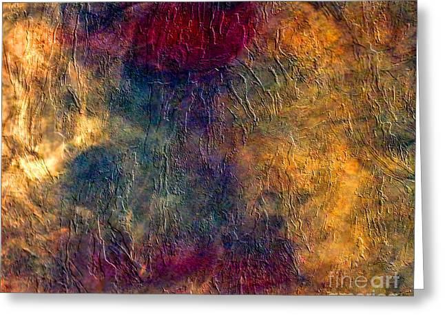 Red Eye Special Greeting Card by Ted Guhl