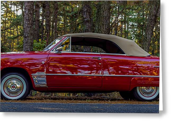 Red Ford Greeting Card by Capt Gerry Hare