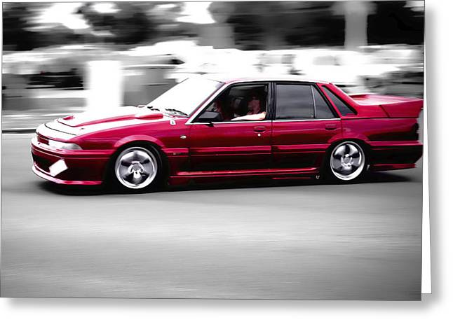 Red Holden Greeting Card by Phil 'motography' Clark