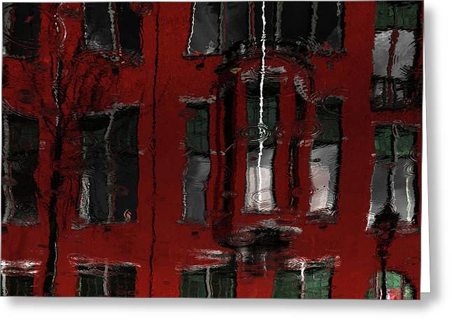Red House Reflections Greeting Card