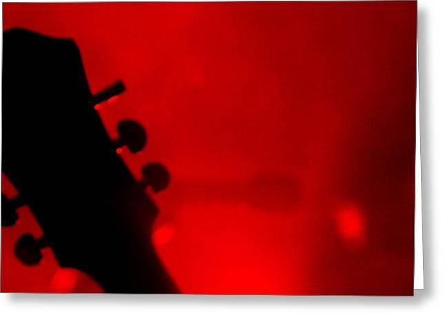 Red Light District Greeting Card by KBPic