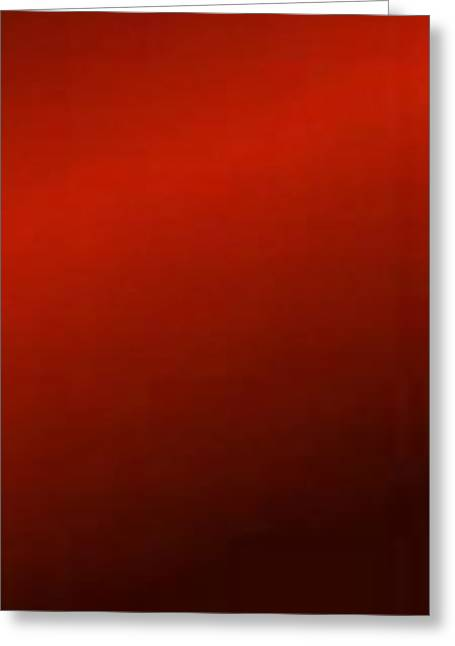 Red Lightning Greeting Card