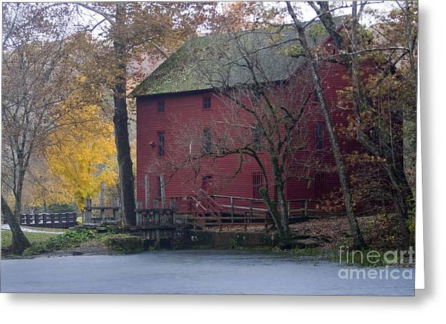 Red Mill Greeting Card