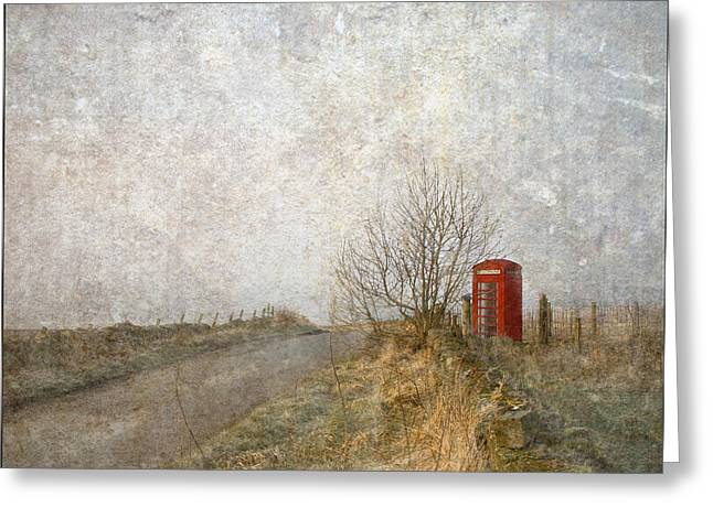Red Phone Box Greeting Card