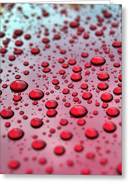 Red Rain  Greeting Card