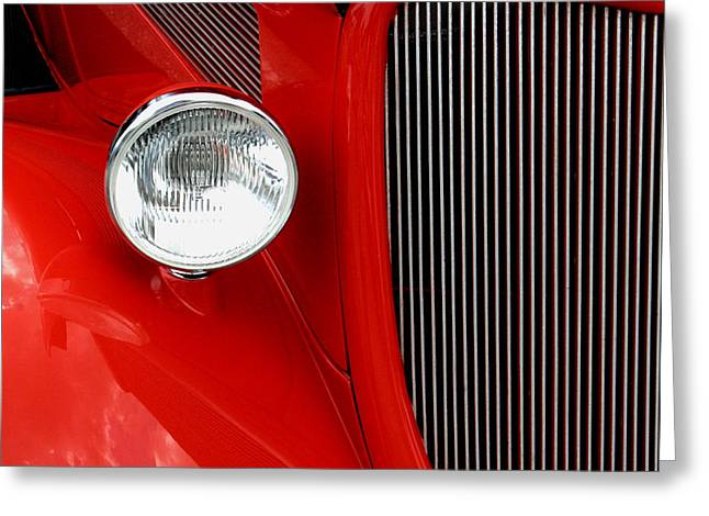 Red Red Roadster Greeting Card