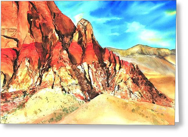 Red Rock #1 Greeting Card