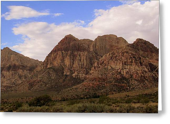 Red Rock Canyon 2014 Number 26 Greeting Card