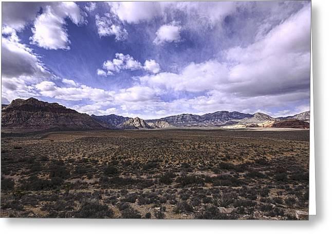 Red Rock Canyon Nevada Greeting Card