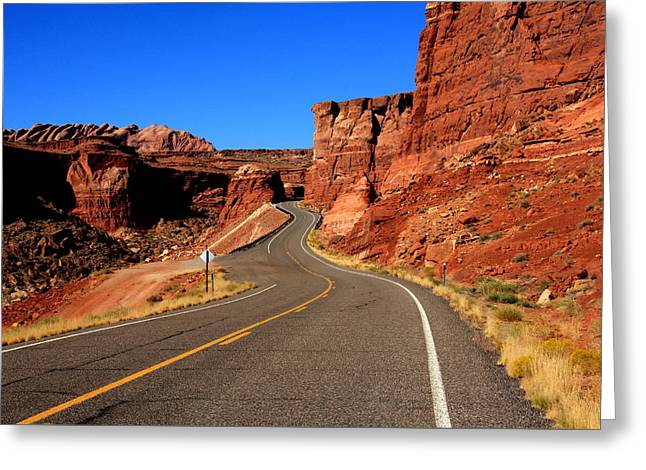 Red Rock Country Greeting Card