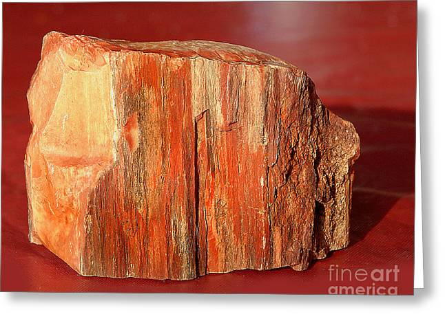 Greeting Card featuring the photograph Red Rock by Lena Wilhite