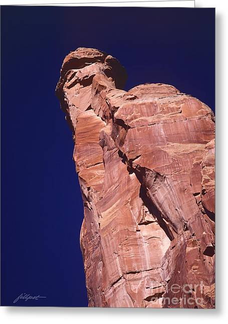 Red Rock Spier Greeting Card