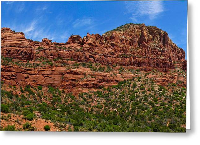 Red Rocks Of Sedona  Greeting Card by Amy Cicconi