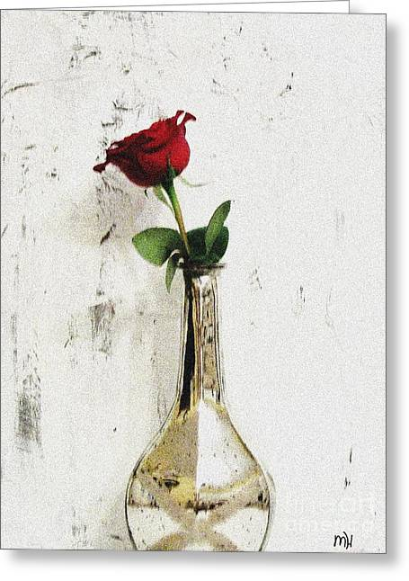 Red Rose Love Greeting Card
