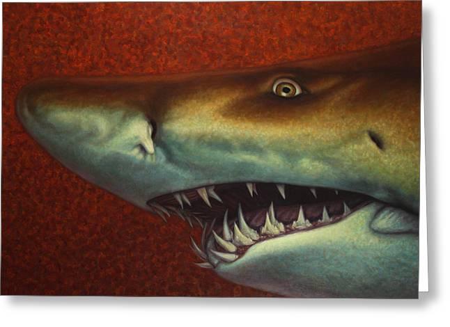 Red Sea Shark Greeting Card