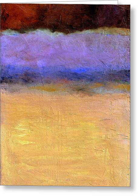 Red Sky Greeting Card by Michelle Calkins