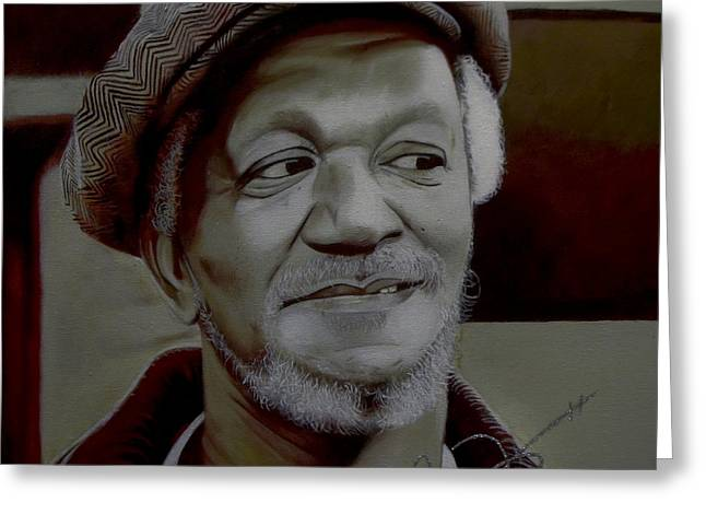 Redd Foxx Greeting Card