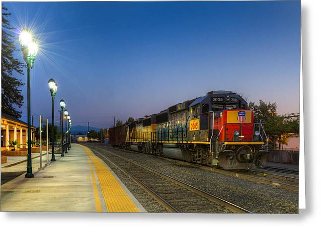 Redding Depot Greeting Card
