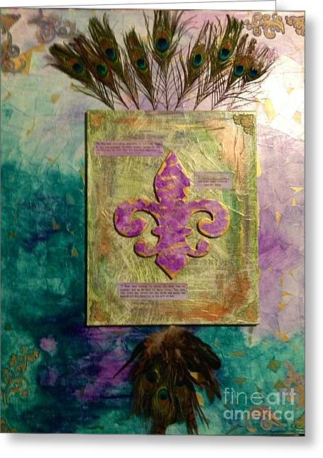 Redeeming The Time Greeting Card by Michelle Bentham