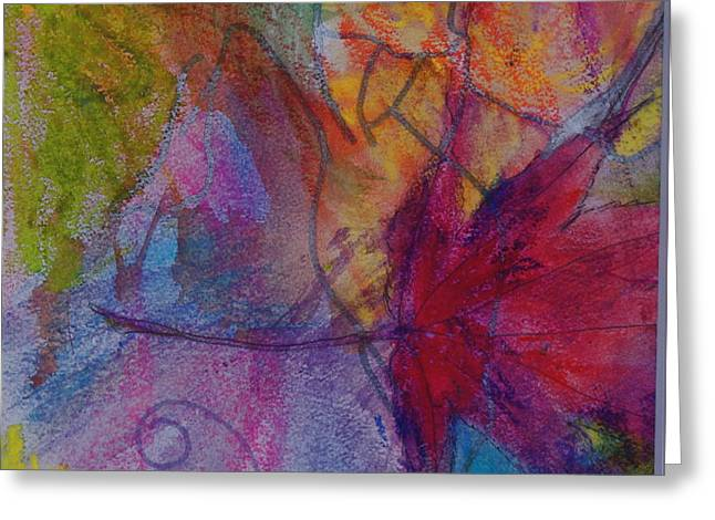 Redgum In Spring Breezes Greeting Card by Claudia Smaletz