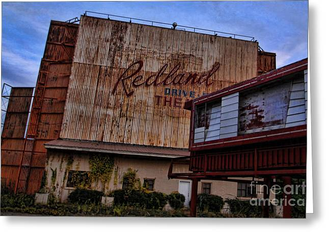 Redland Drive In Theatre Greeting Card