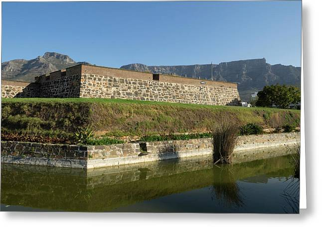 Redoubt Of Castle Of Good Hope Greeting Card by Panoramic Images
