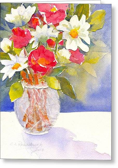 Reds And Whites Greeting Card