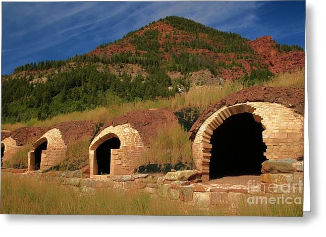 Redstone Coke Ovens Greeting Card