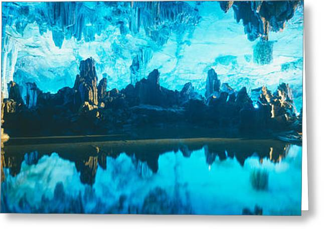 Reed Flute Cave In Guilin, Guangxi Greeting Card