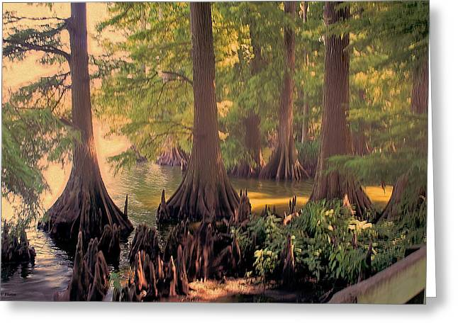 Reelfoot Lake At Sunset Greeting Card