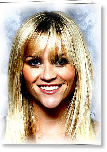 Reese Witherspoon Greeting Card