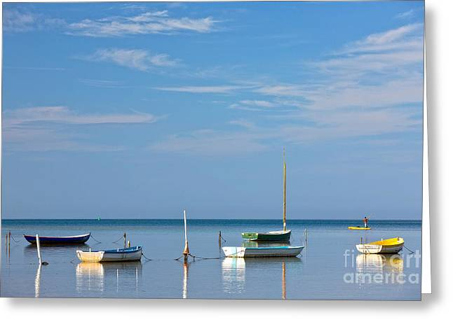 Refections Greeting Card by Anthony Calleja