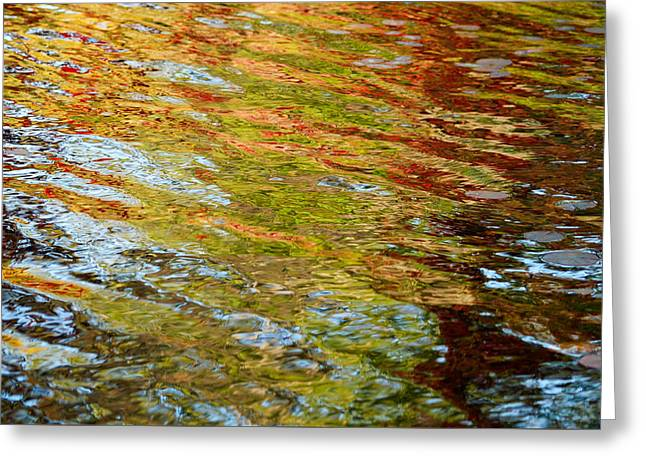 Reflected Autumn Colours Greeting Card