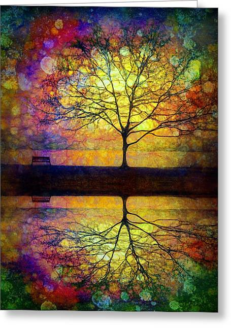 Reflected Dreams Greeting Card
