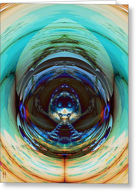Reflected Greeting Card by Jim Pavelle